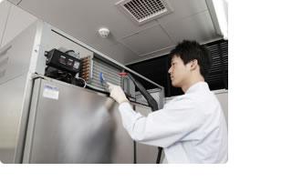 冷凍・冷蔵庫 熱交換器01