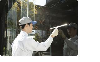 業務用ガラスクリーニング01